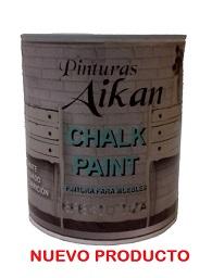 Pintura chalk paint aikan efecto tiza